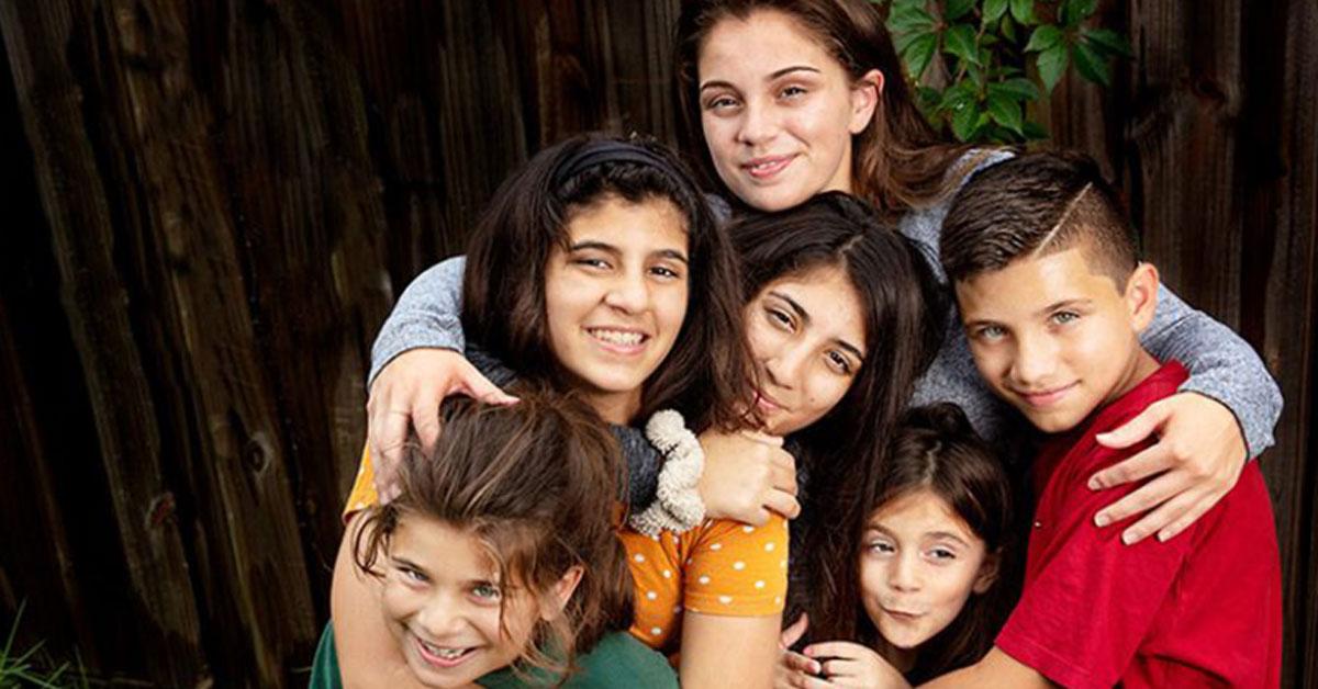 woman raising her 5 siblings