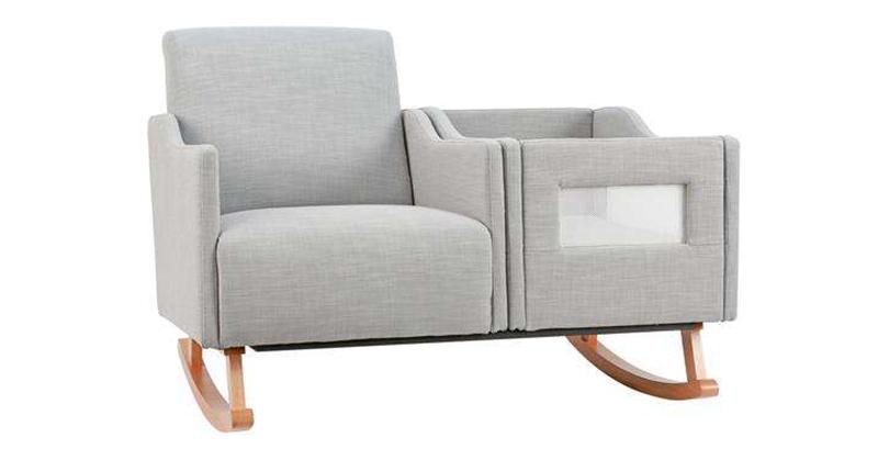 Bassinet rocking chair
