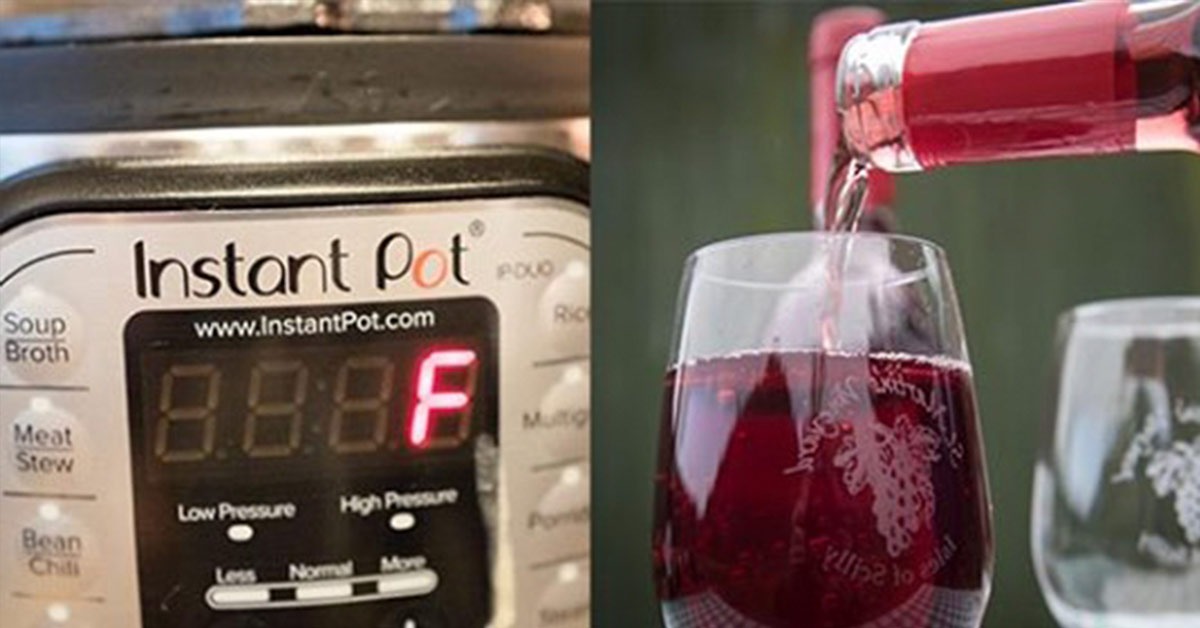 making wine in your instant pot