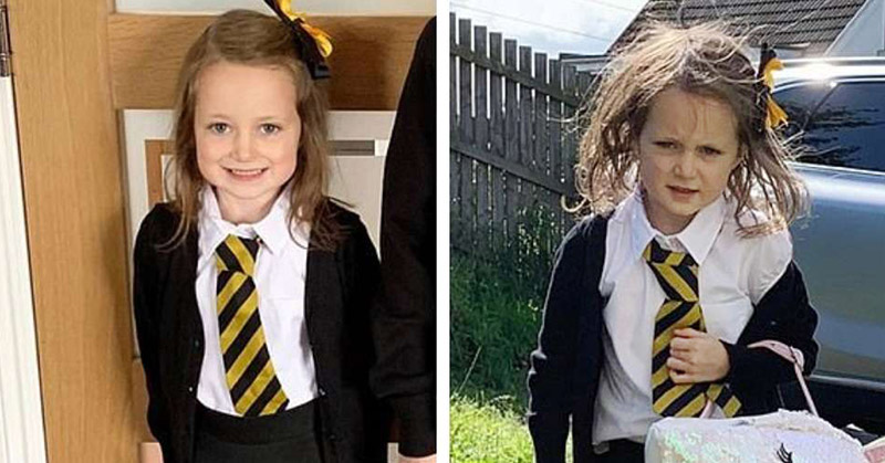 before and after school photos
