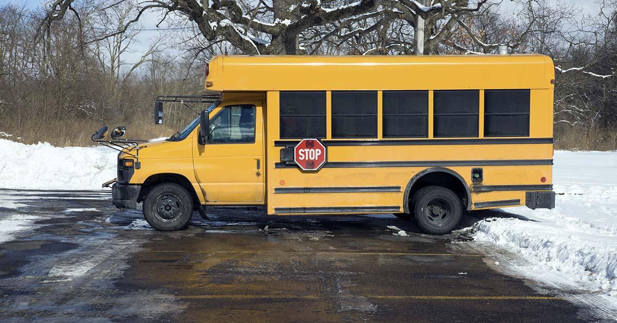 short school bus